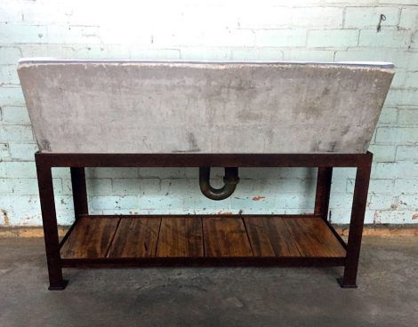 industrial laundry trough