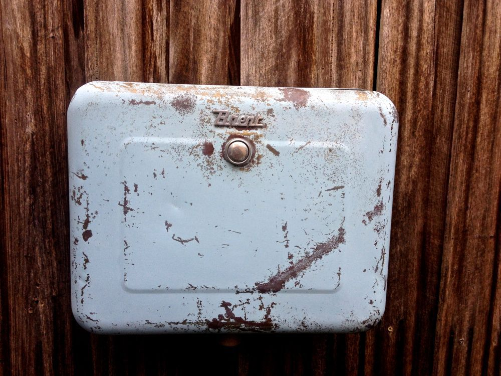 vintage brent cistern