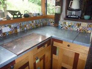 different kitchen bench