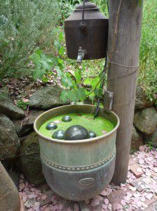 original Garden water feature.