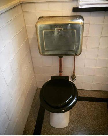 vintage cistern