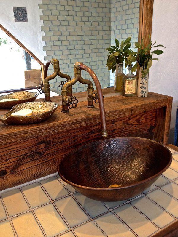 Rustic Industrial Bathroom Old SoulOld Soul