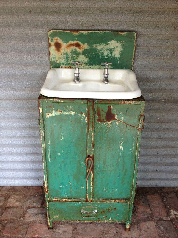Industrial steel vanity unit. - Old SoulOld Soul