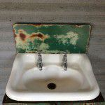 vintage industrial taps