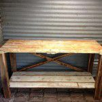recycled kitchen side board