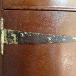 vintage rustic hinge