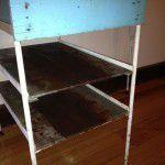 retro shelves