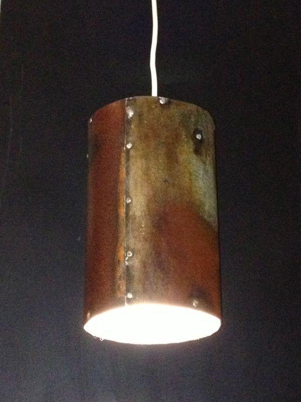 Industrial Rustic Pendant Lighting : Rustic industrial pendant light old soulold soul