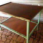 rustic industrial sideboard
