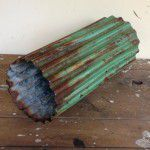 rustic industrial light fitting