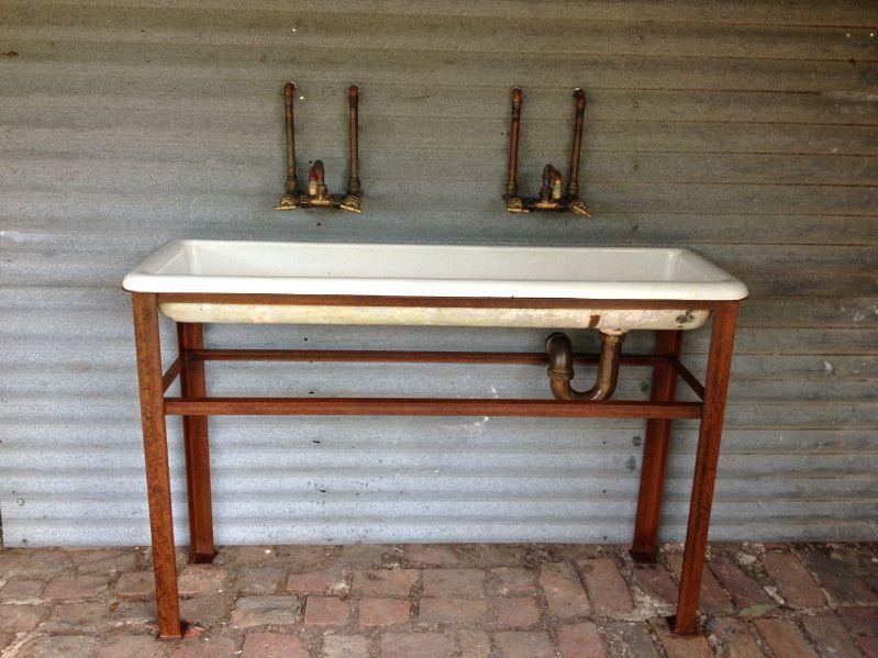 industrial wash trough