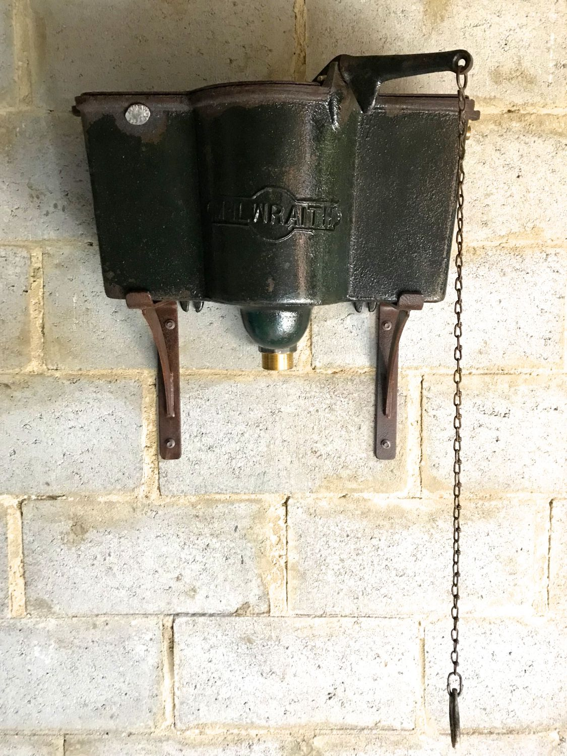 vintage chain pull cistern