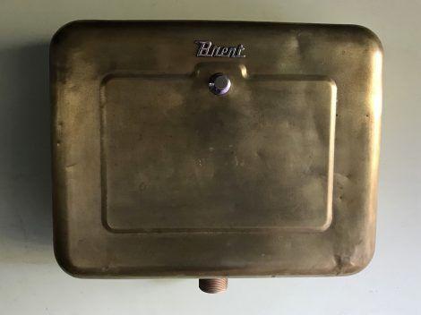 vintage brass toilet cistern