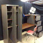vintage industrial office furniture