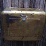 brass Brent toilet cistern