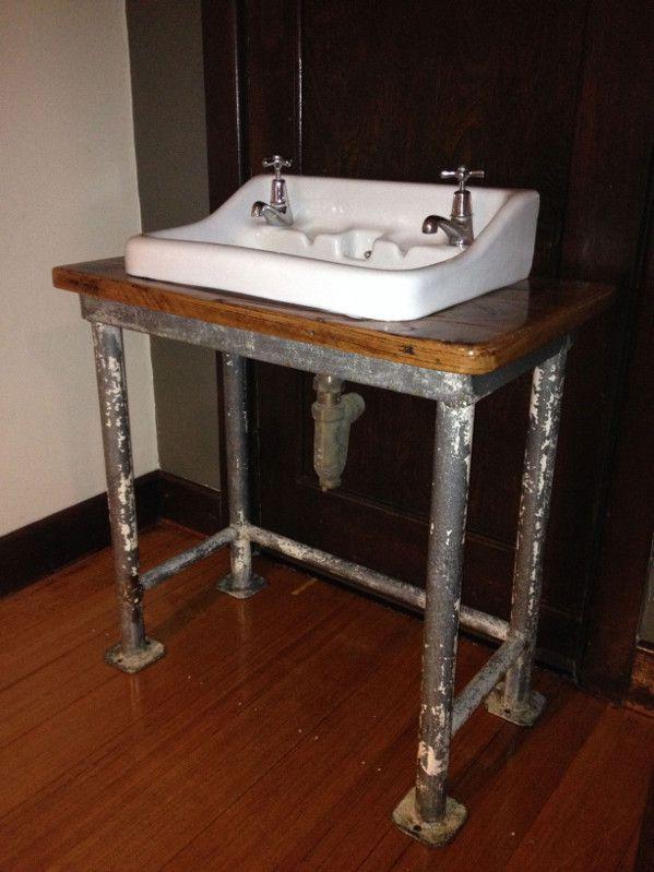 Vintage Industrial Bathroom Basin Old Soulold Soul