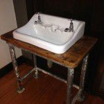 vintage industrial sink