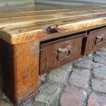 vintage industrial storage drawers