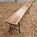 commercial bench seat