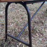 steel bench seat