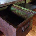 vintage industrial drawer