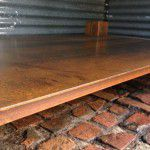 steel table top