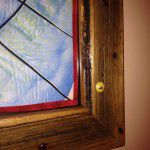 reclaimed timber picture frame