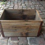 rustic display crate