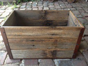 rustic display box