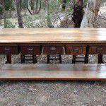 industrial steel table