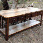 industrial kitchen bench