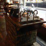 custom made coffee cart