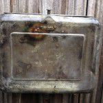 vintage industrial toilet cistern
