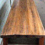 recycled timber top