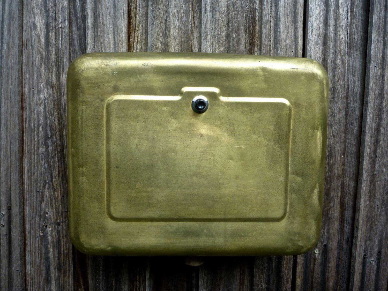 brass cistern