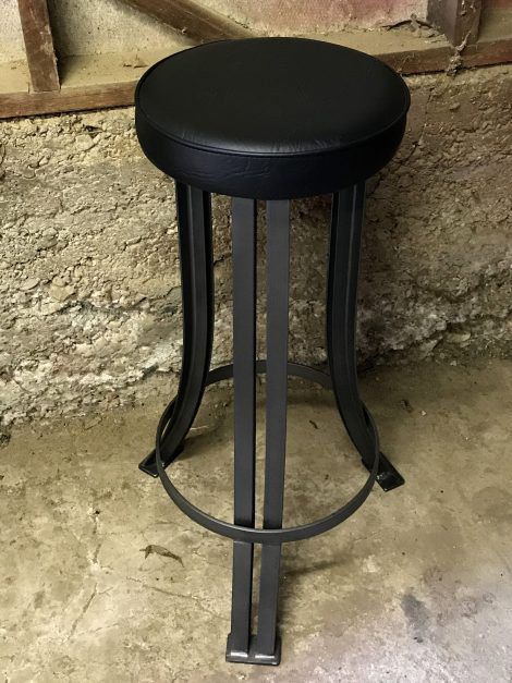 industrial steel stool