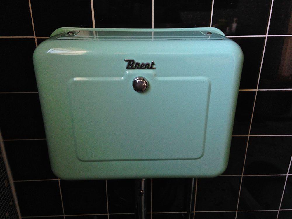 vintage toilet cistern