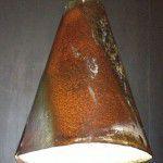 rustic industrial light shade