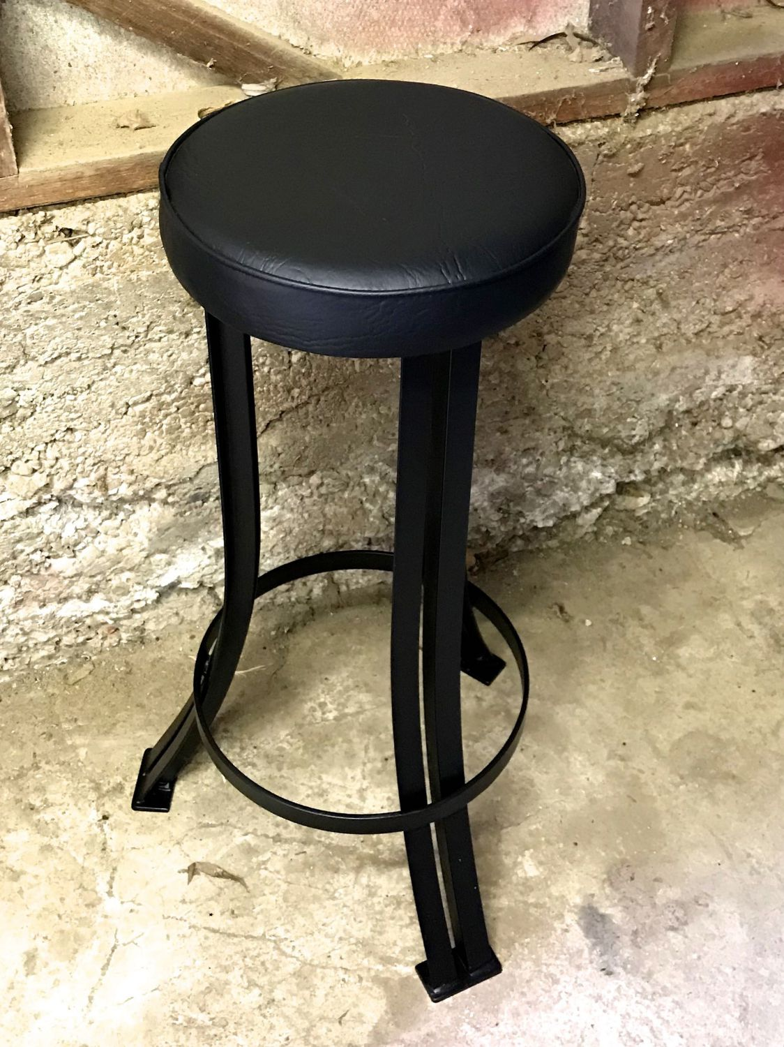 industrial cafe stool