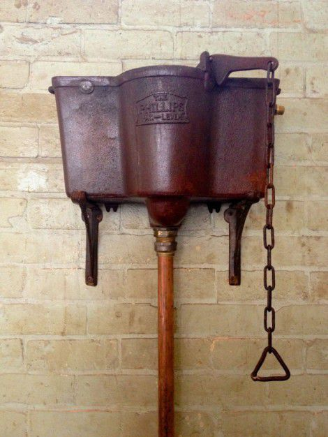 cast iron cistern