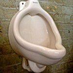 vintage urinal