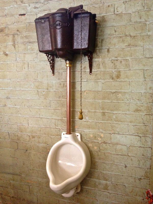 vintage toilet